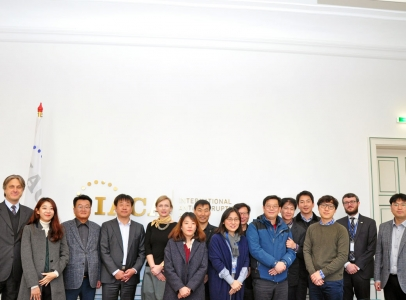 Delegation of Korean environmental experts visits IACA