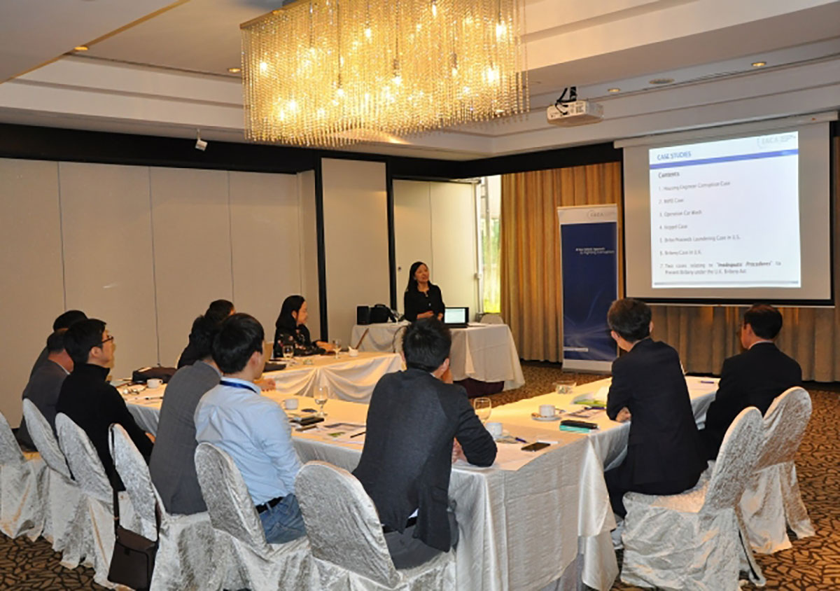 IACA Delivers Second Training in Singapore for Korean Professionals