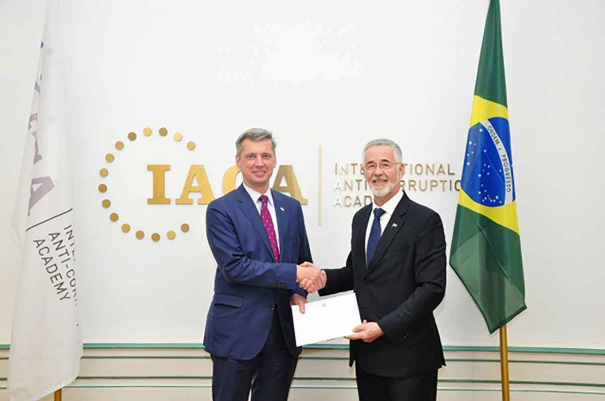 Brazilian Ambassador Presents Credentials