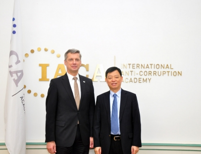 Chinese Delegation at IACA