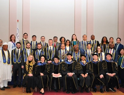 Graduation of the Fourth MACS Class