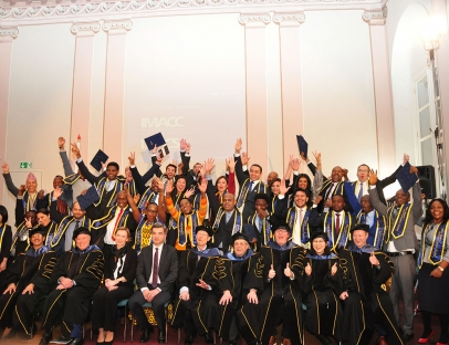 Graduation Ceremony of IACA Master's Programmes Students