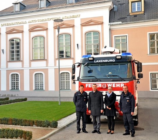 IACA Supports Laxenburg's Fire Brigade